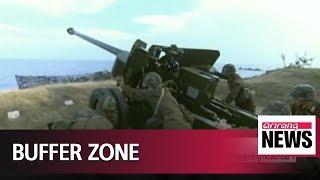North Korea to halt live-fire artillery drills, close all NLL gun ports beginning November 1