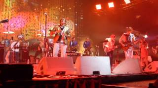 Arcade Fire - Been Caught Stealing/Here Comes the Night Time live in LA 2014