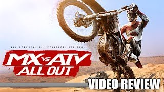 Review: MX vs. ATV All Out (PlayStation 4, Xbox One & PC) - Defunct Games