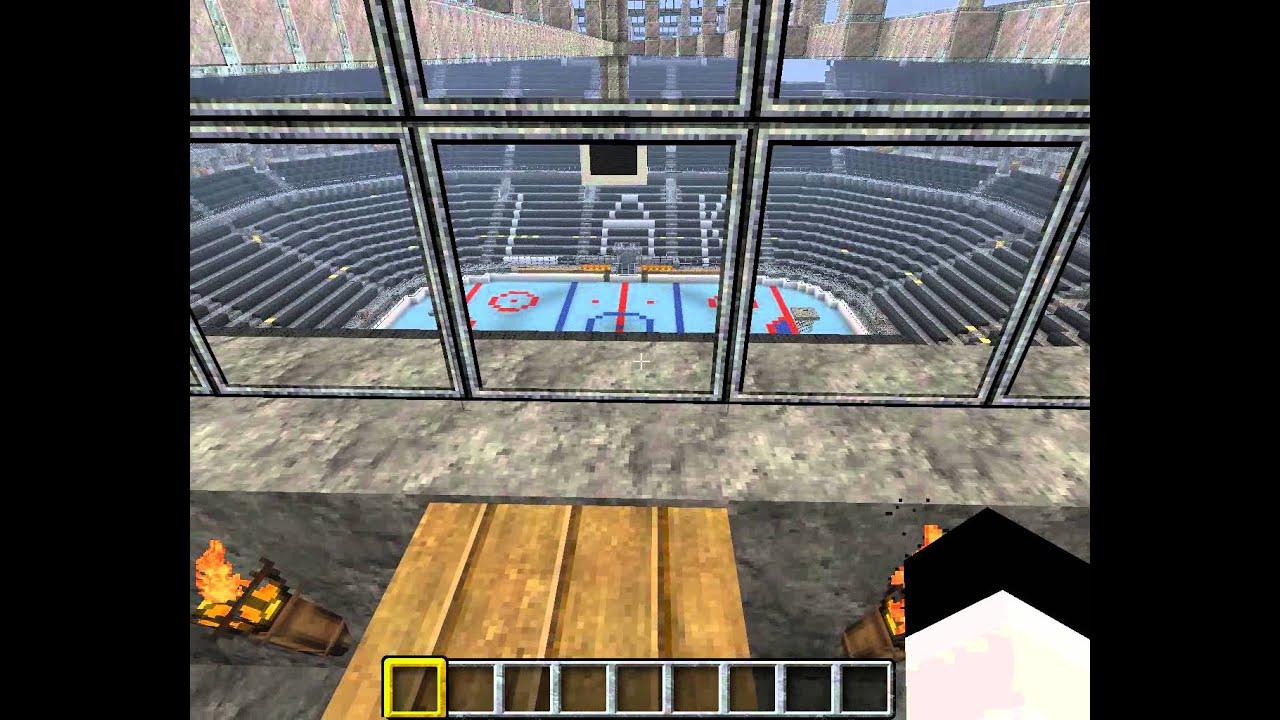 Staples Center Los Angeles Minecraft YouTube