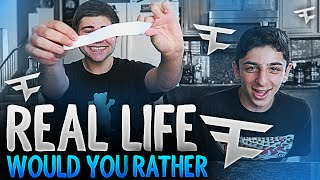 real life would you rather w faze fakie