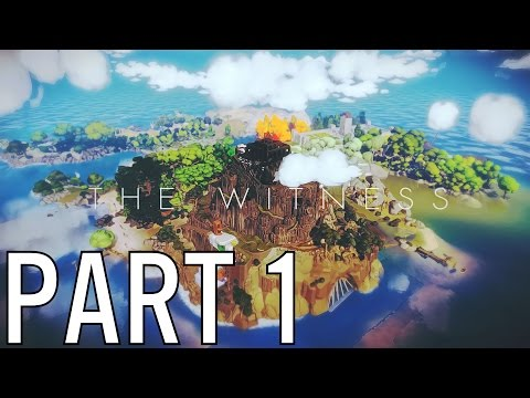 The Witness Gameplay Part 1 - First 2 Audio Recordings (PS4 PC XBOX HD)