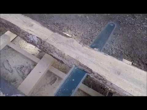 Sahalaitos Stihl 391 Homemade Chain Sawmill