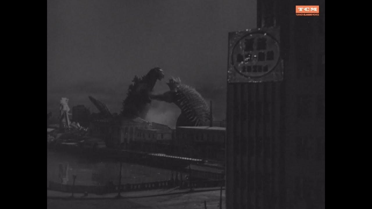Download Godzilla Raids Again ('55): Enter Anguirus clip - classic Japanese monster movie scenes