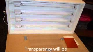 Build UV Lightbox