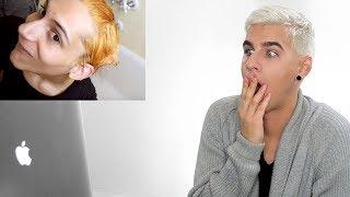 HAIRDRESSER REACTS TO CHARLES GROSS RUINING HIS HAIR! | bradmondo