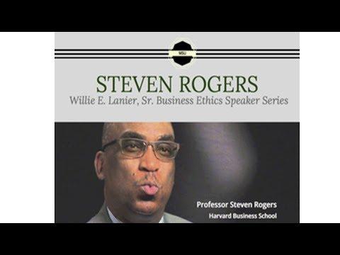 MSU Willie Lanier Business Ethics Speaker Series