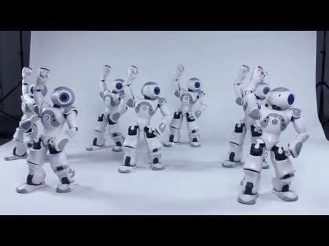 Dancing robots synchronization (MIT with NAO)