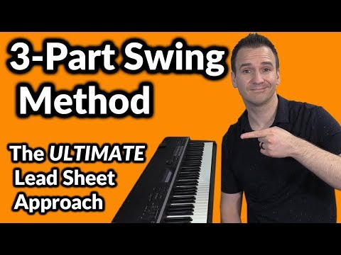 Autumn Leaves: The Ultimate Lead Sheet Approach! (3-Part Swing Method) Piano Lesson