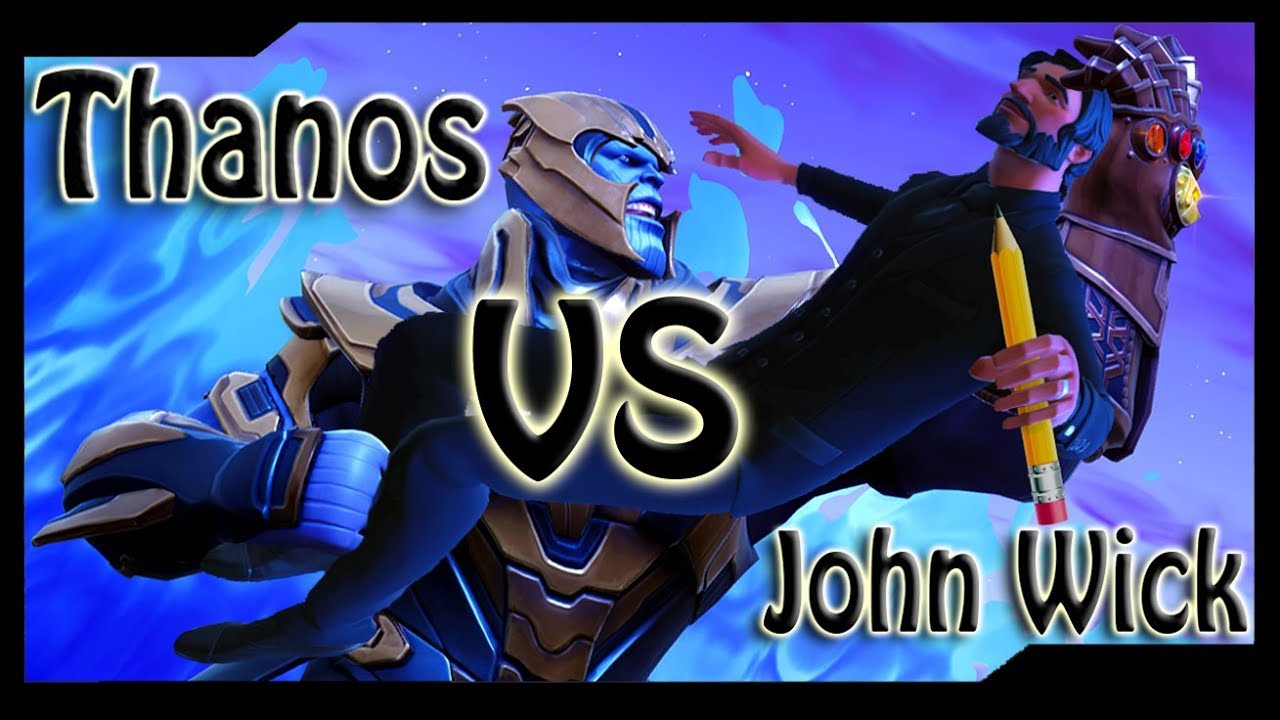 Thanos Vs John Wick Awesome Cinematic Epic Battle Forums