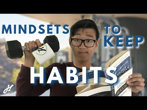3 Simple Mindsets To Make Your Habit Stick | How To Keep Your Habits Long Term