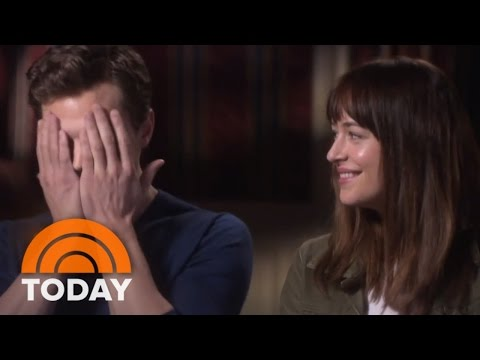 Fifty Shades' Dakota Johnson Discusses Sex Scenes  | TODAY