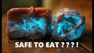 Glowing Blue Meat is in Your Refrigerator?  And always has been!  Mandela Effect
