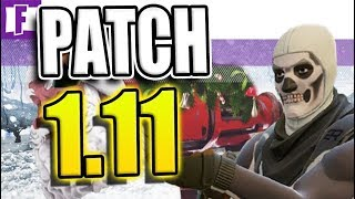 PATCH 1.11 - New GRANATWERFER, SKINS & EMOTES - Fortnite Battle Royale