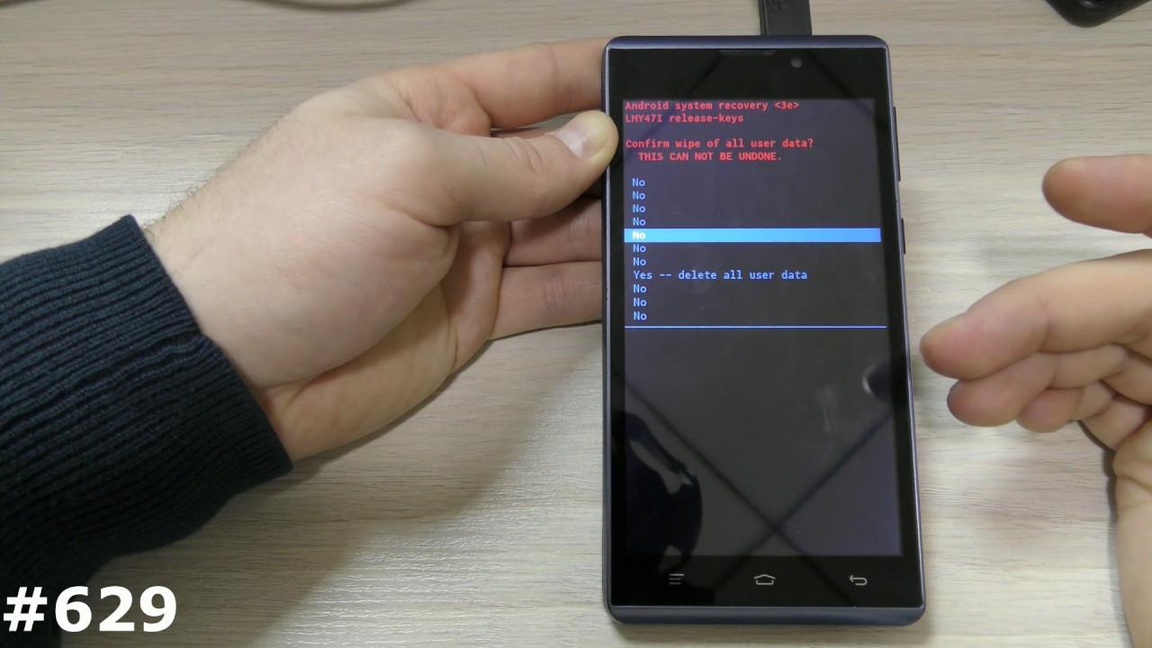 Android как сделать all reset фото 383