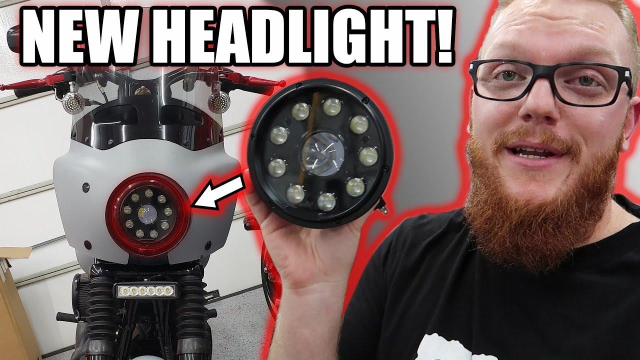 Moto Illumination LED Headlight - Rogue Rider Industries