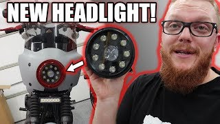 Moto Illumination LED Headlight - Rogue Rider Industries