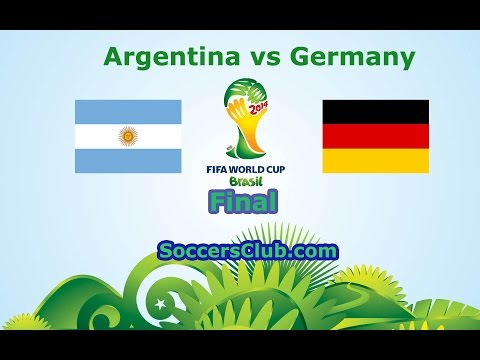 Watch Argentina vs Germany July 13, 2014 World Cup 2014 online