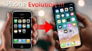 iPhone evolution From iPhone to iPhone X