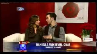 Kevin y Danielle entrevistados por FOX 5