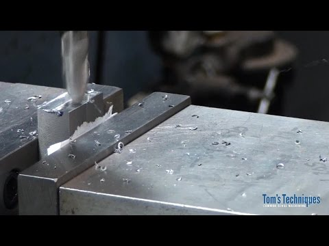 Clamp Knurling Tool, Knurl Holder Part 1, Squaring the Stock