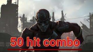 Injustice 2 Stylish Flash combos + 50 HIT COMBO
