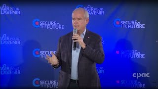Erin O'Toole addresses supporters in Markham, Ontario – August 30, 2021