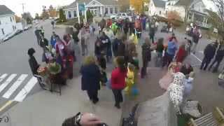 2015 Boothbay Harbor Halloween Parade at Two Salty Dogs