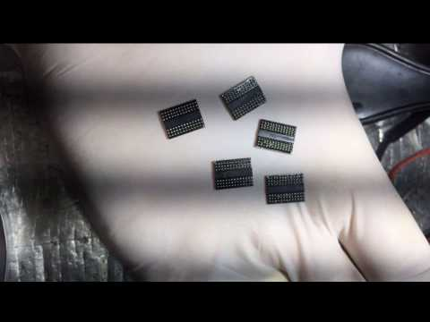 Reballing ddr3 1600Mhz + www.baqueirohardware.com