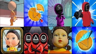 Survive It,Candy Challenge 3D,Octopus Squid Game 3D Challenge,Cookie Carver: Life Challenge Rublox