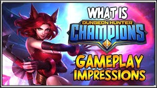 Best New Mobile ARPG?! Dungeon Hunter Champions First Look Gameplay Impressions New Mobile ARPG Moba