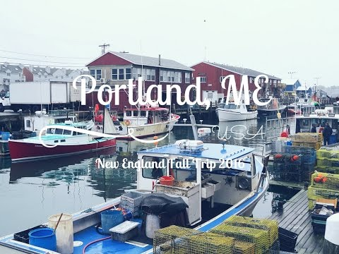 New England Fall 2016 | PORTLAND, Maine ♡ Travel with Steffi
