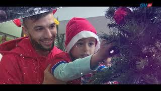 Decoração da árvore de Natal do Gil Vicente FC