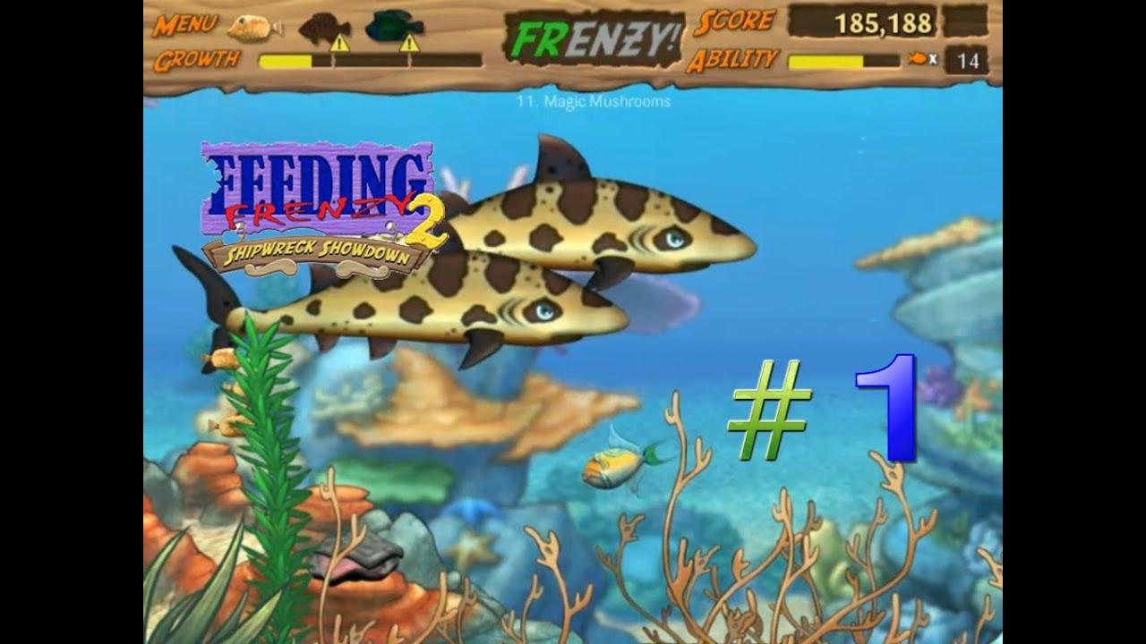 Feeding Frenzy 2 #1 (Stage 1-16) - ออกสู่ทะเลอีกครั้ง กับภัยอันตรายที่มากกว่าเดิม #1