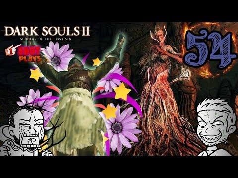 1ShotPlays - Dark Souls 2 (Part 54) - Elana, the Squalid Queen (Blind)