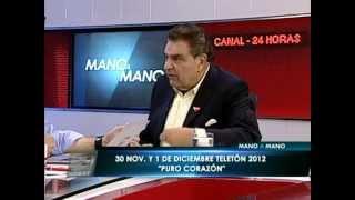 """Don Francisco: La Teletón """"es lo mejor que he hecho"""" - 24 HORAS TVN 2012"""