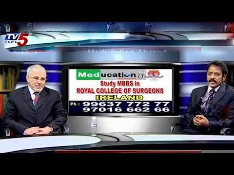 MBBS in Ireland | Royal College of Surgeons | Study time : TV5 News