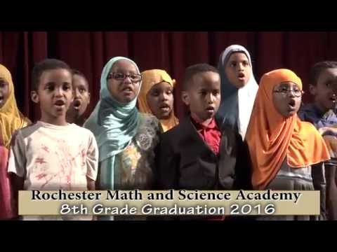 Rochester Math and Science Academy 8th grade graduation 2016