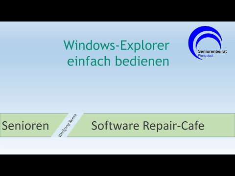 Windows Explorer einfach bedienen