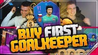 FIFA 19: PREMIUM SBC ČECH Buy first GOALKEEPER 🧤😂