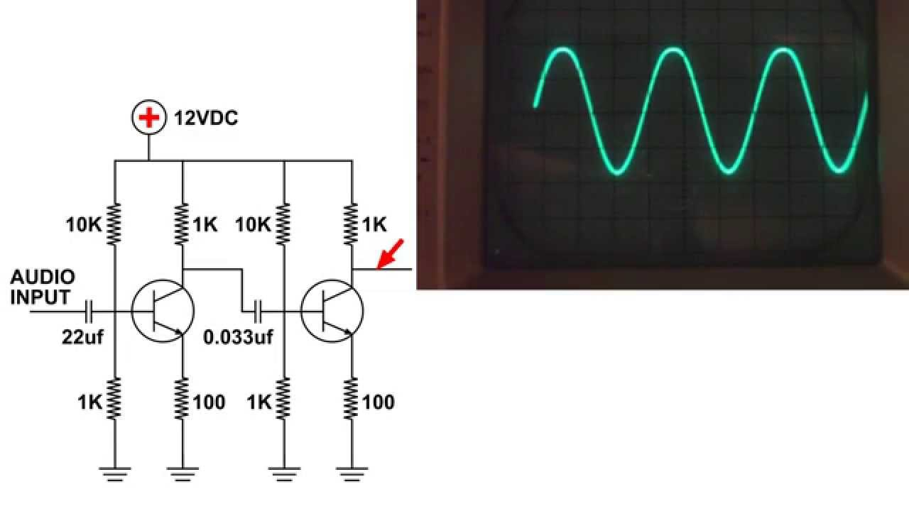 Audio Amplifier Basic Circuit Build Demo Youtube Sound Operated Switch By Bc109