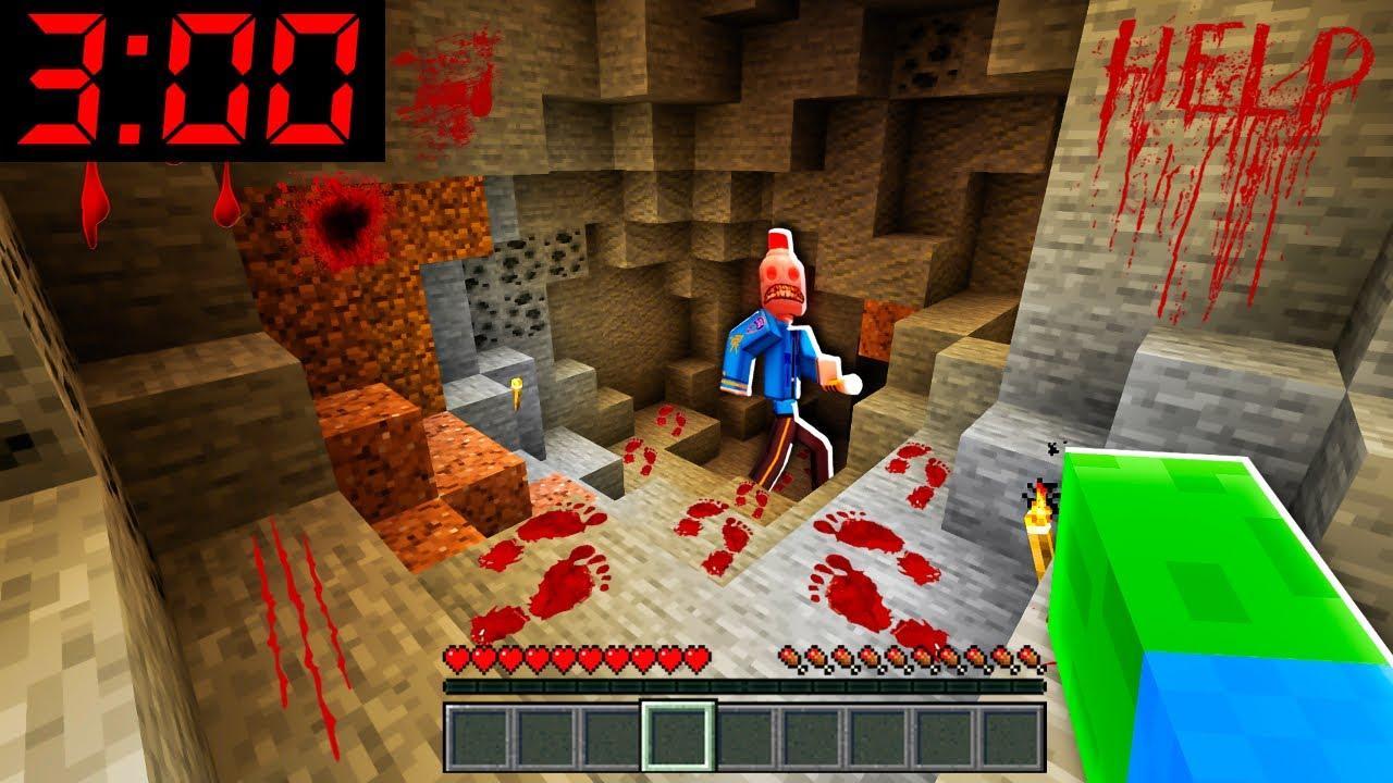 Download CETTE GROTTE EST HANTÉ À 3H00 DU MATIN SUR MINECRAFT ! Un monstre veut tuer Diabolofeat35 !