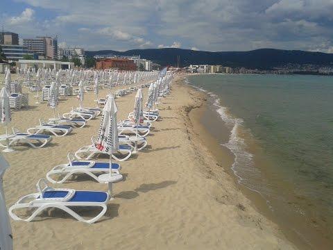 Солнечный берег.Пляжи.Цены на шезлонги, массаж, аквапарк.Болгария