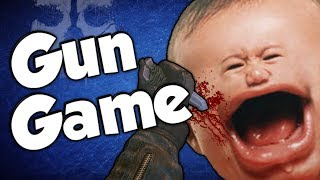 SCREAMING SQUEAKERS! (Gun Game Reactions - Call of Duty: Ghosts)