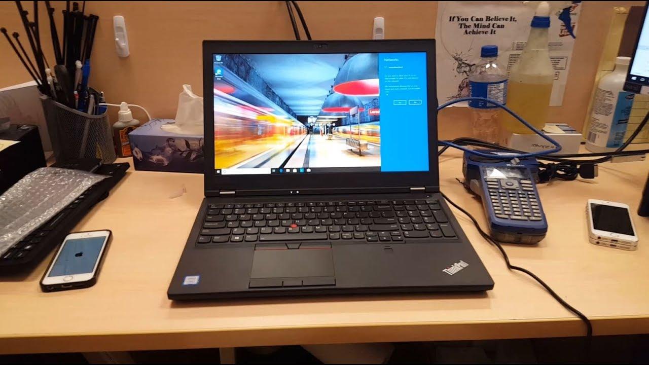 Lenovo ThinkPad P52 20M9-000FUS Cad Workstation Laptop Review, Benchmark, &  Look Inside 4 Upgrades