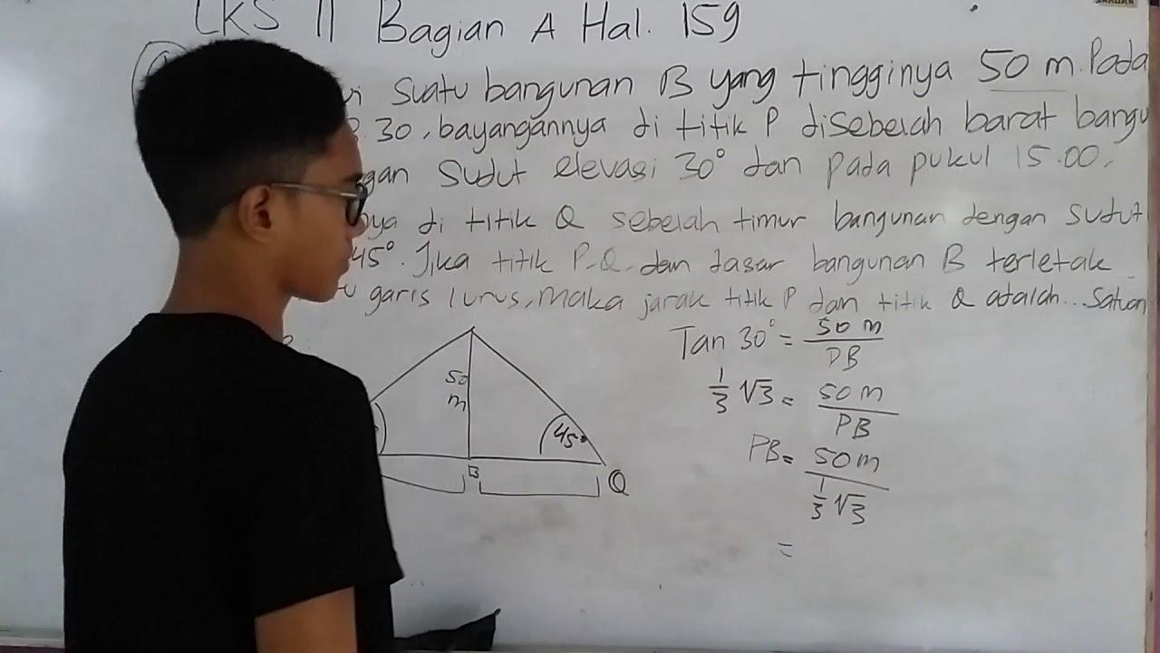SMAN 1 Cikarang Utara MATEMATIKA Kelas 10 tentang Trigonometri  Buku Paket Erlangga LKS 11