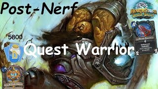 Hearthstone: Azalina Quest Warrior Post-Nerf #1: Witchwood (Bosque das Bruxas) - Standard