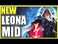 (NEW HUGE BUFF!) FULL AP LEONA MID! | THE BEST LEONA MID BUILD SEASON 9