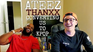 Converting Us To Kpop | ATEEZ(에이티즈) - 'THANXX' Official MV | Reaction Video