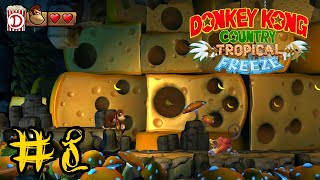 So ein Käse! | Donkey Kong Country Tropical Freeze 100% #8 | Nintendo Switch | Deutsch